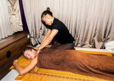 Schulter Nacken Rücken Massage